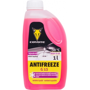 COYOTE Antifreeze G13 -30°C READY TO USE 1L
