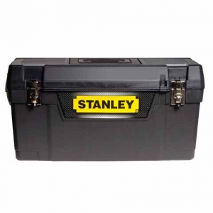 97e3b2b16e 20 quot  box na nářadí s kovovými přezkami Stanley.