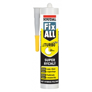 Soudal Fix ALL Turbo bílý 290 ml