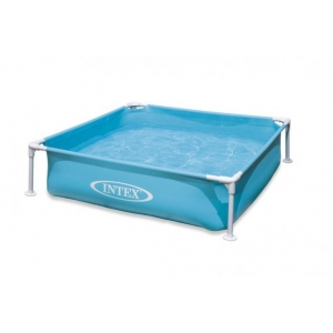 Intex 157173NP Pool Frame Mini modrý 122x122x30cm
