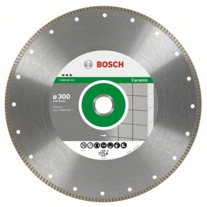 BOSCH Diamantový kotouč 300x25,4 Best for Ceramic Extraclean...
