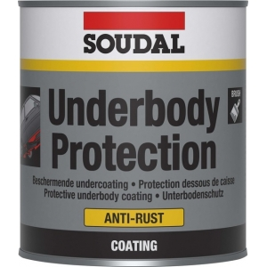 Soudal Underbody protection aerosol 500ml