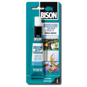 Bison Kit Transparent 50ml blistr - Kontaktní lepidlo...