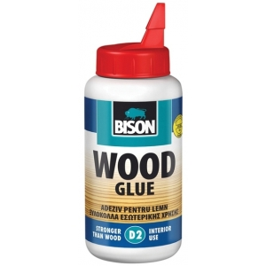 Bison Wood Glue D2 75g blistr - Lepidlo na dřevo