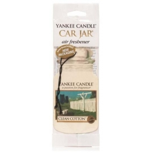 YANKEE CANDLE CLEAN COTTON VŮNĚ DO AUTA - PAPÍROVÁ...