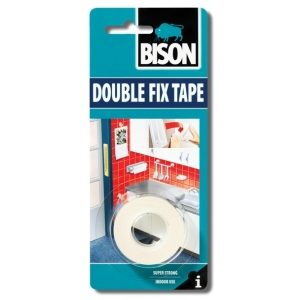 Bison Double Fix 19mm x 1,5m blistr - Oboustranná lepící...