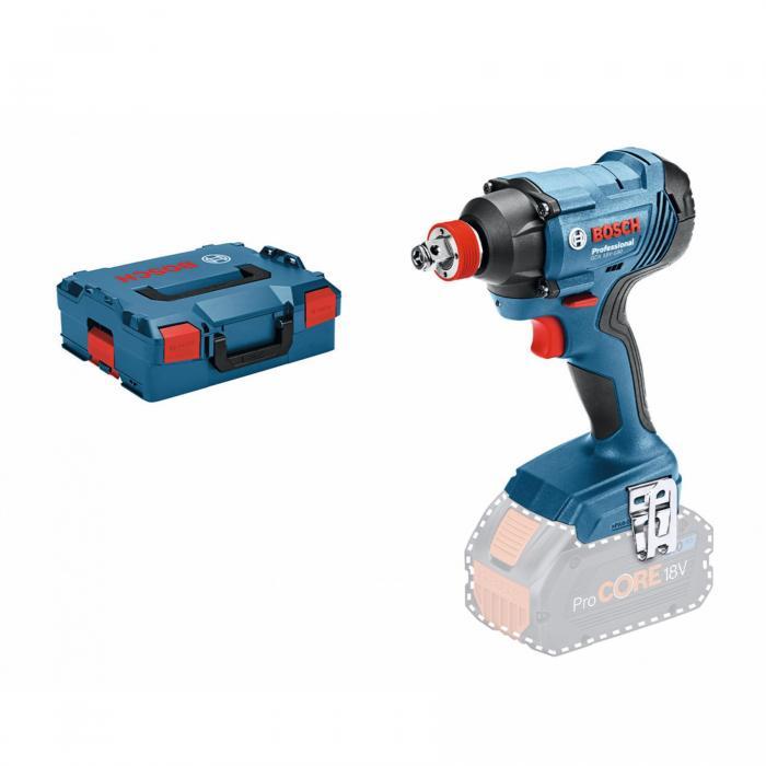 Bosch 06019G5202 Aku rázový utahovák GDX 18V-180 solo CLC v L-boxu