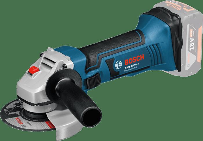 Bosch GWS 18-125 V-LI úhlová bruska