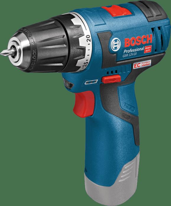Bosch GSR 12V-20 (solo) aku vrtaví šroubovák