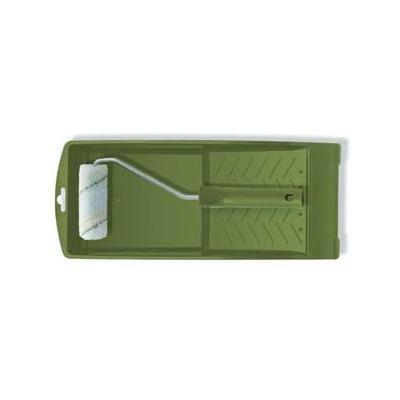 COLOR EXPERT Malířská sada váleček na malé plochy 10 cm, 29 cm držák, vanička na barvu mikrovlákno