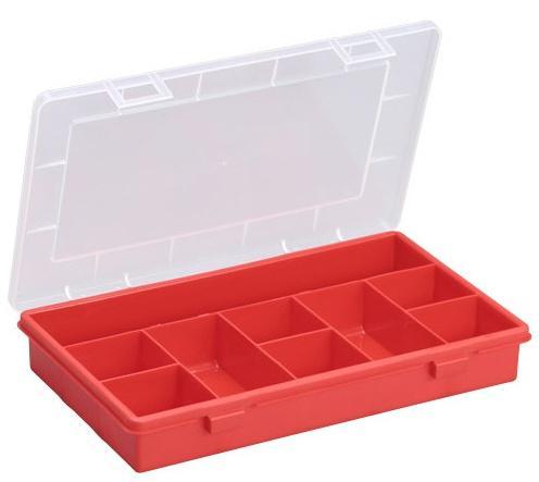ALLIT Plastový kufřík s pevným vnitřním dělením EuroPlus Basic 29/9 457210