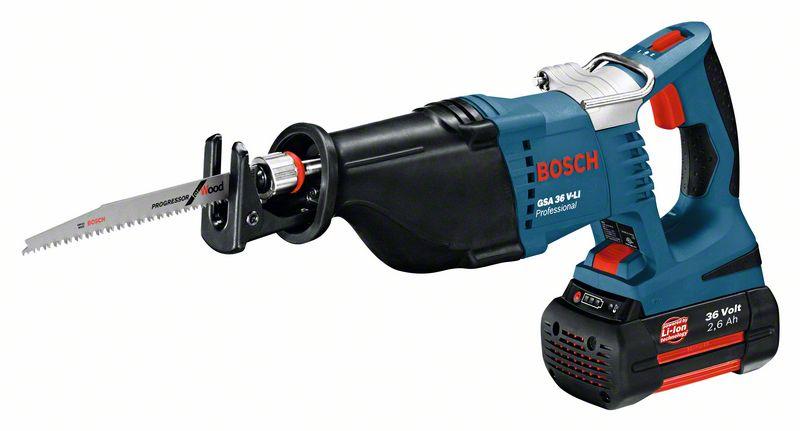 Bosch Akumulátorová pila ocaska GSA 36 V-LI