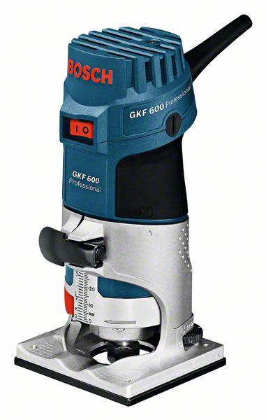 Bosch Ohraňovací frézka GKF 600