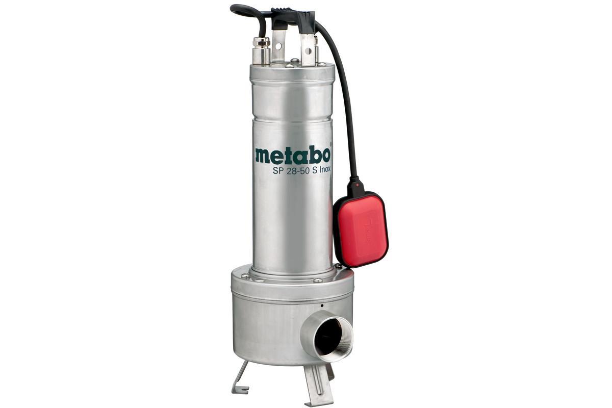 METABO SP 28-50 S Inox Čerpadlo na stavební a znečištěnou vodu