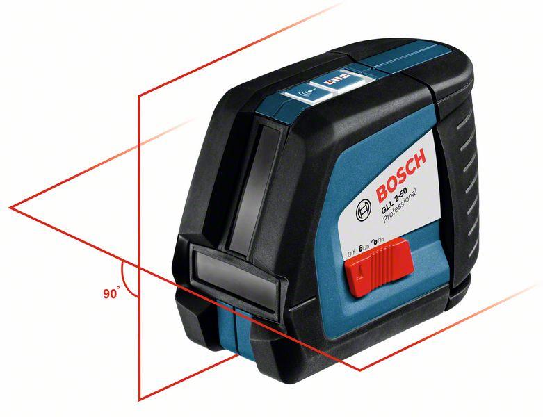Bosch GLL 2-50 čárový laser