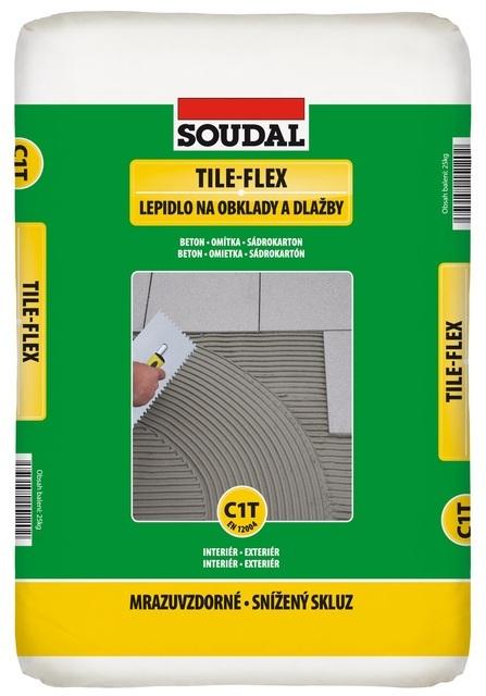 Soudal TILE-FLEX Lepidlo na obklady a dlažby 25 kg