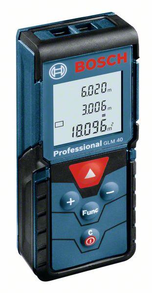Bosch Laserový měřič vzdálenosti GLM 40
