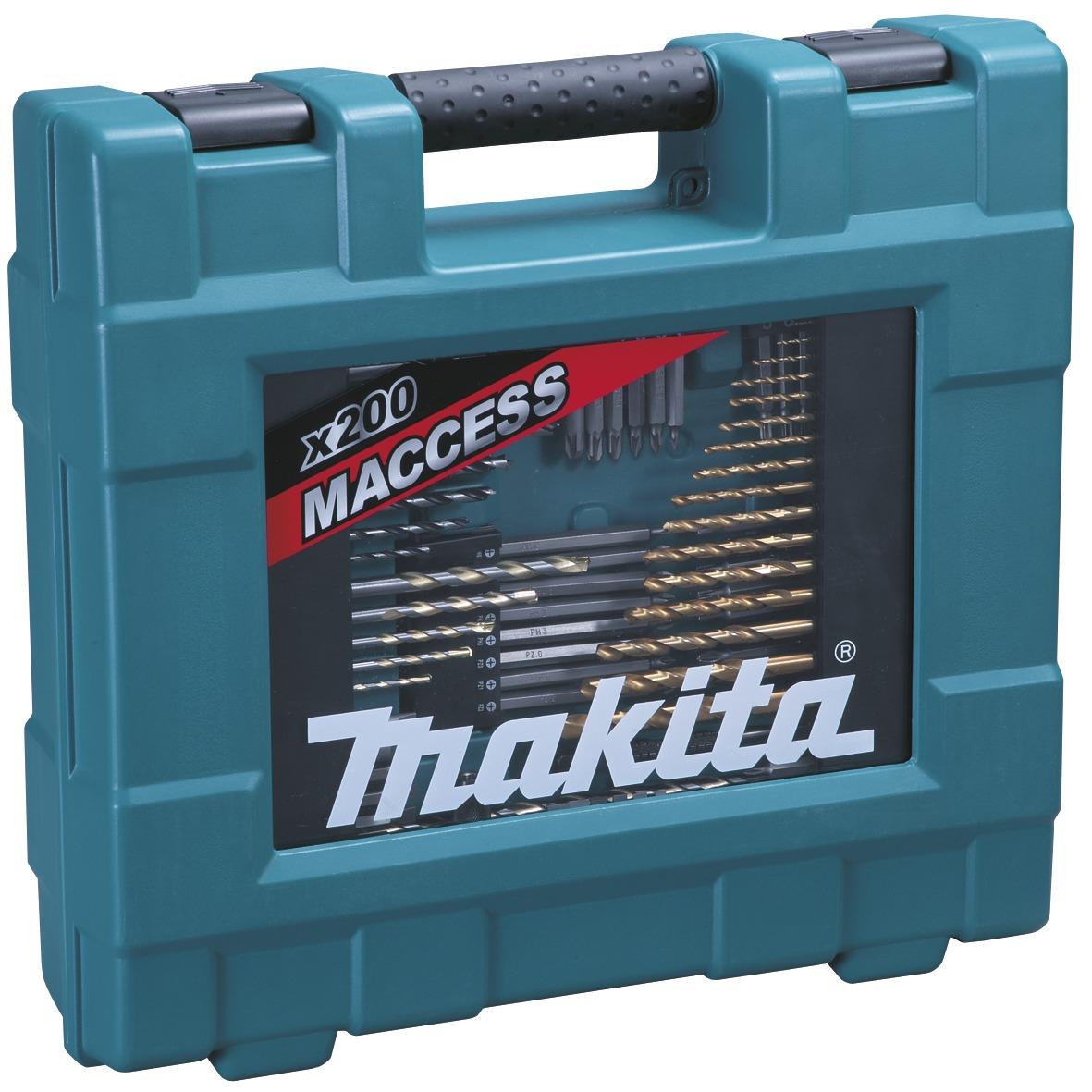 Makita sada příslušenství 200ks D-37194