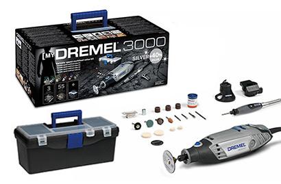 DREMEL Stříbrná sada ® 3000 (3000-3/55)
