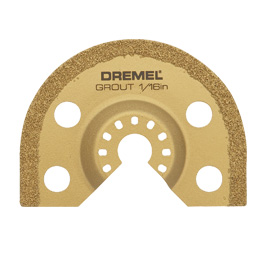DREMEL ® Multi-Max list na odstraňování zálivkové malty (MM501)