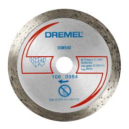 DREMEL Diamantový řezný kotouč na dlaždice ® DSM20 (DSM540)