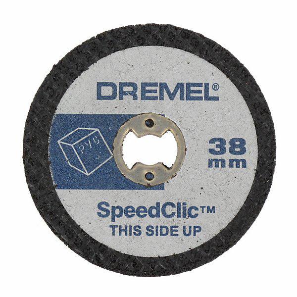 DREMEL Řezné kotouče na řezání v plastu s rychloupínáním ® EZ SpeedClic, 5dílná sada (SC476)