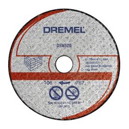 DREMEL Řezný kotouč na zdivo ® DSM20 (DSM520)