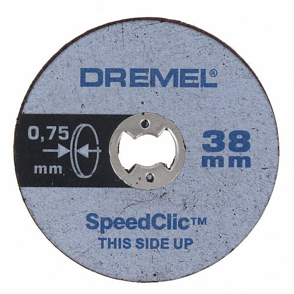 DREMEL Tenké řezné kotouče s rychloupínáním ® EZ SpeedClic, 5dílná sada. (SC409)