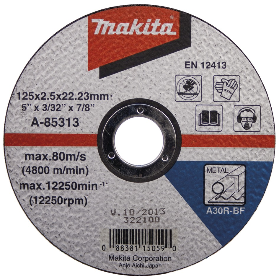 MAKITA Řezný kotouč na ocel 115x1.6x22