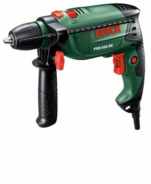 Příklepová vrtačka Bosch PSB 650 RE
