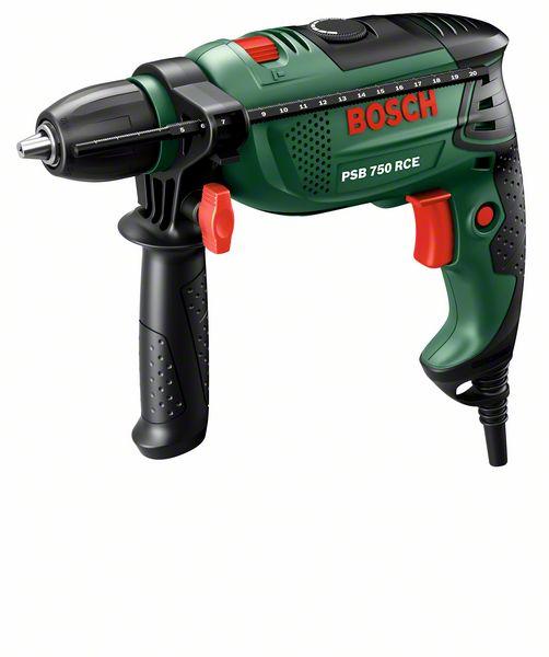 Příklepová vrtačka Bosch PSB 750 RCE