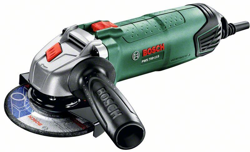 Úhlová bruska Bosch PWS 750-115