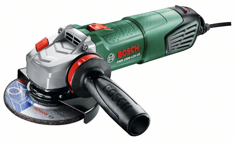 Úhlová bruska Bosch PWS 1000-125 CE