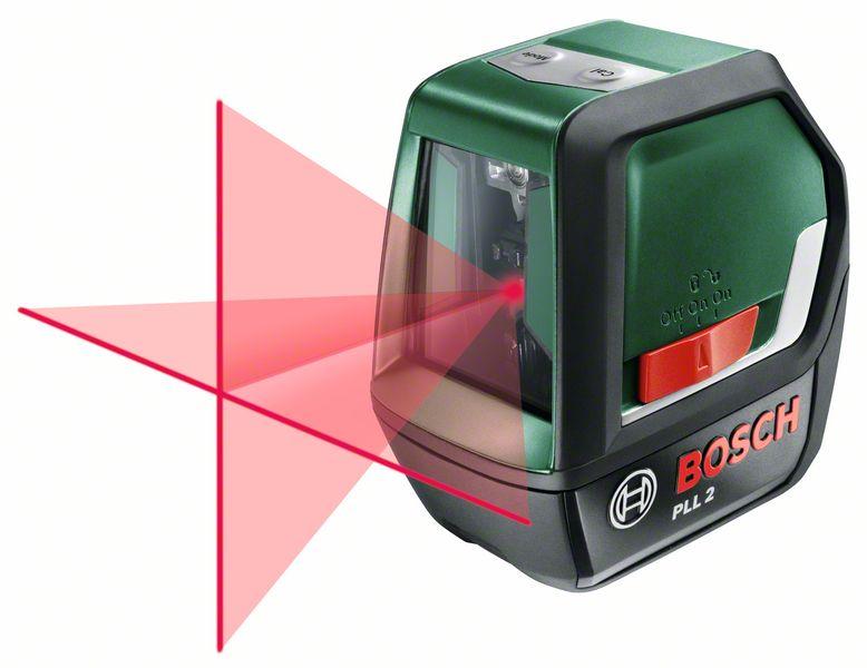 BOSCH Křížový laser s funkcí sklonu