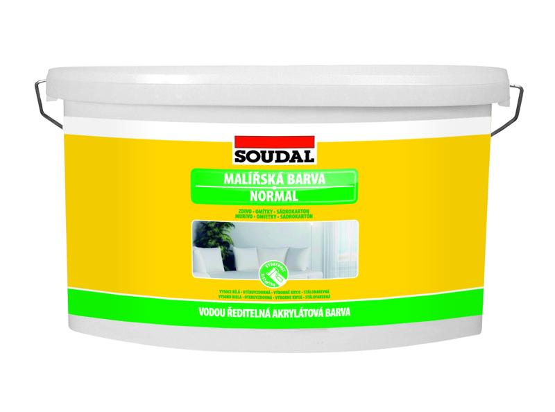 Soudal Malířská barva NORMAL 1,5kg