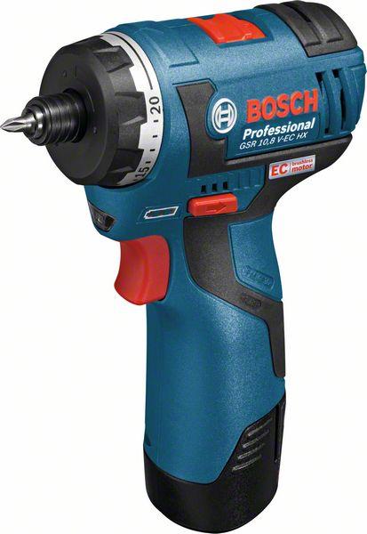 Bosch Akumulátorový šroubovák GSR 10,8 V-EC HX