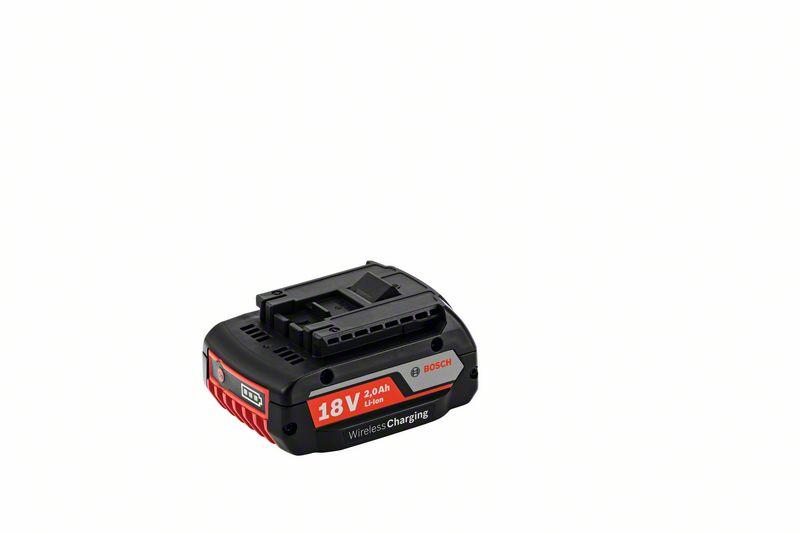 Bosch Akumulátorové nářadí GBA 18 V 2,0 Ah MW-B s bezdrátovým nabíjením