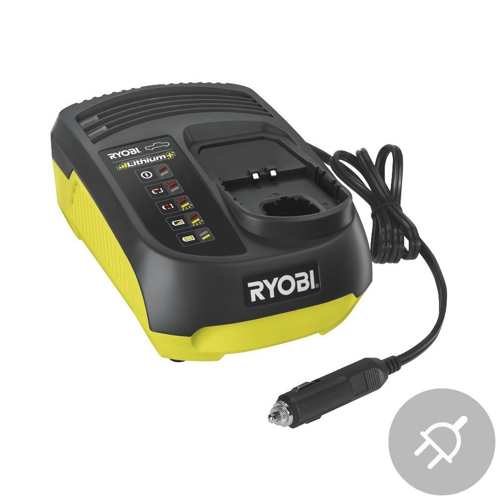 Ryobi RC18-118C Elektrická nabíječka, do auta, 18V
