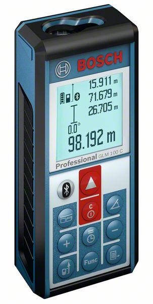 Bosch Laserový měřič vzdálenosti GLM 100 C