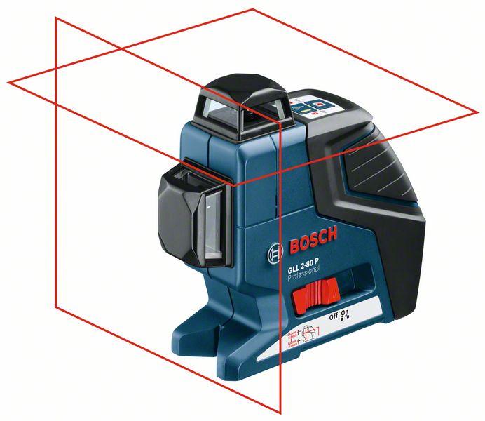 Bosch Čárový laser GLL 2-80 P