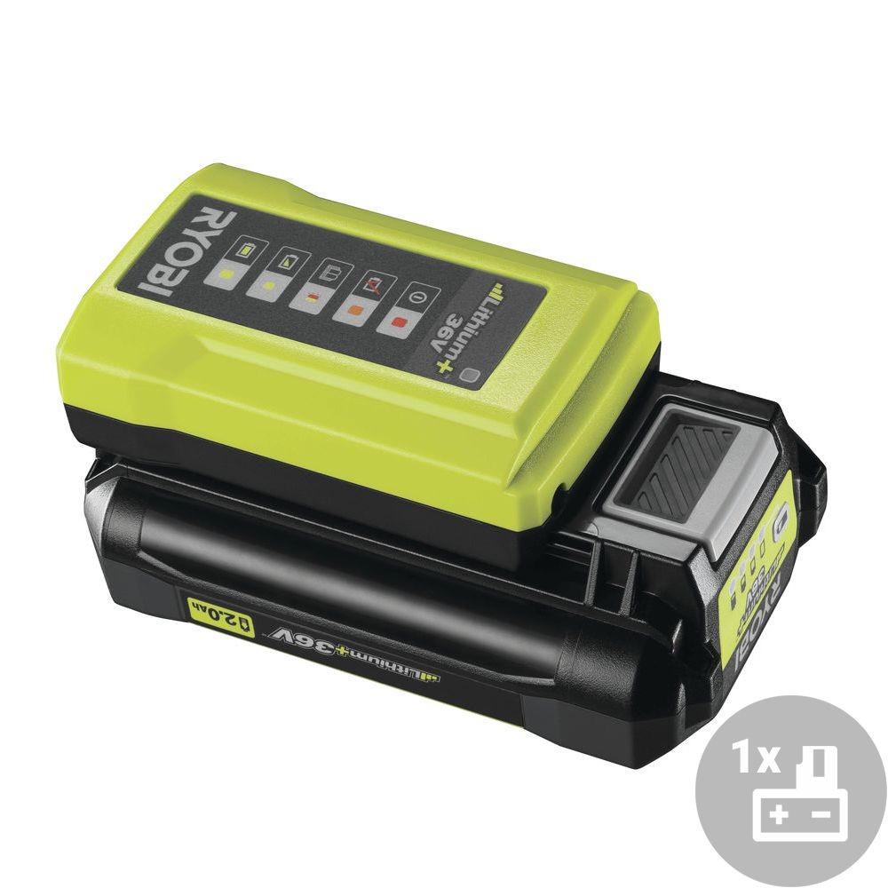 Ryobi RY36BC17A-120 Set akumulátor + nabíječka, 36V, 1x 2,0Ah