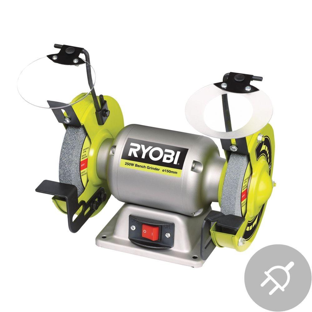 Ryobi RBG6G1 Elektrická dvoukotoučová bruska, 250W