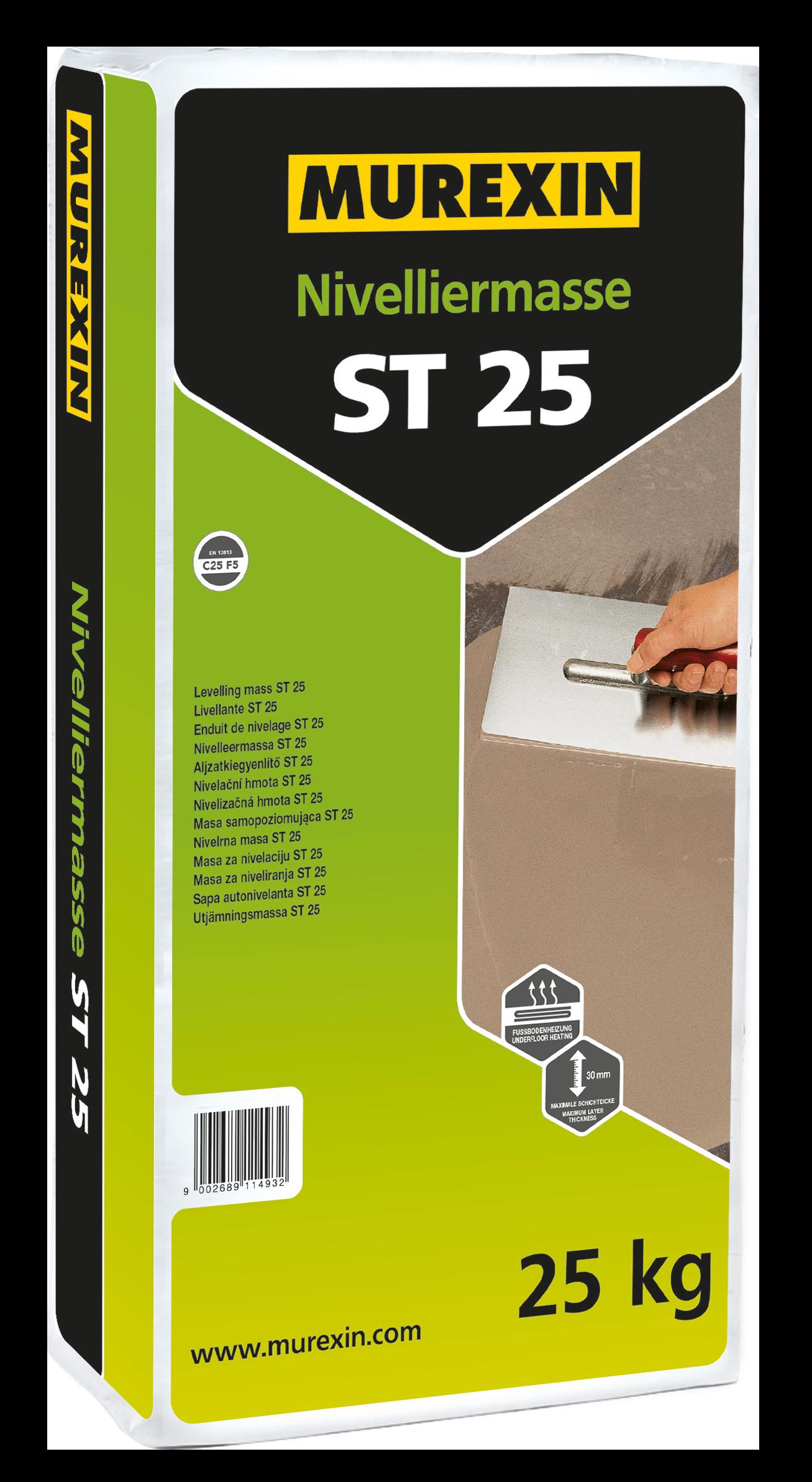 Murexin Nivelační hmota ST 25 25 kg