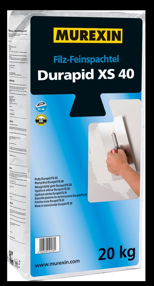 Murexin Stěrka jemná Durapid XS 40 20 kg