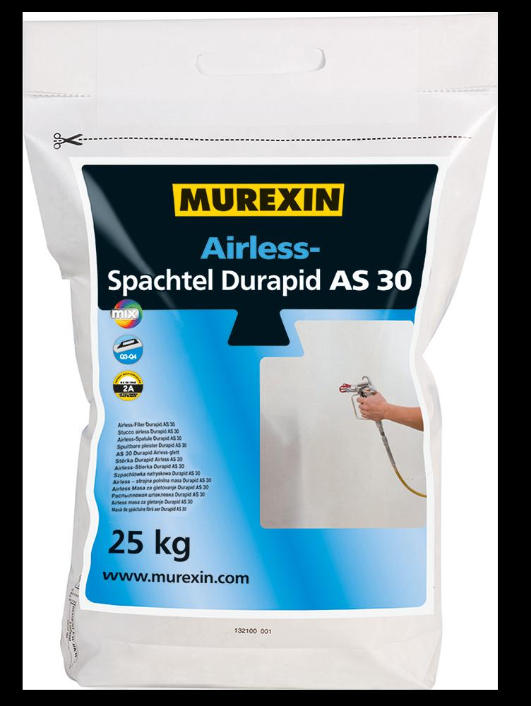 Murexin Stěrka stříkaná Airless Durapid AS 30 pytel 25 kg