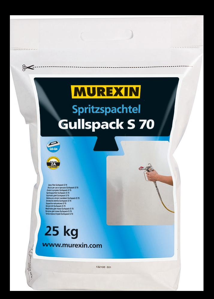 Murexin Stěrka stříkaná Gullspack S 70 kbelík 25 kg