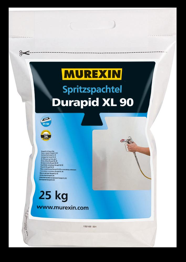 Murexin Stěrka stříkaná Durapid XL 90 pytel 25 kg