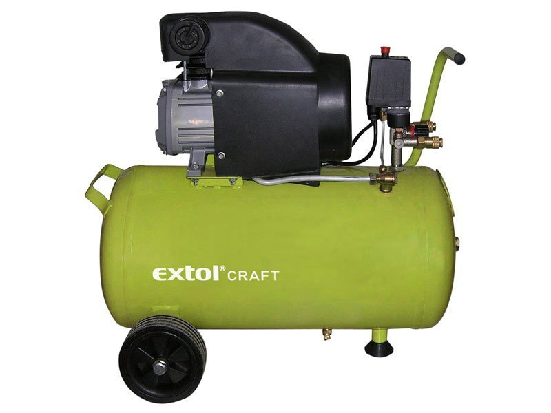 EXTOL CRAFT Kompresor olejový, 1500W, 50l, , 418210