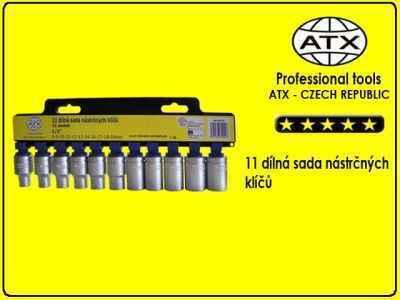 "ATX 11 dílná sada nástrčných klíčů 1/2"" -"