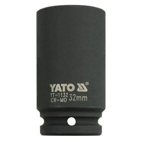 """YATO Nástavec 3/4"""" rázový šestihranný hluboký, 32 mm, CrMo,"""